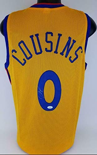new arrival 5b4fc e84c8 DeMarcus Cousins Signed Golden State Warriors Custom 'The ...