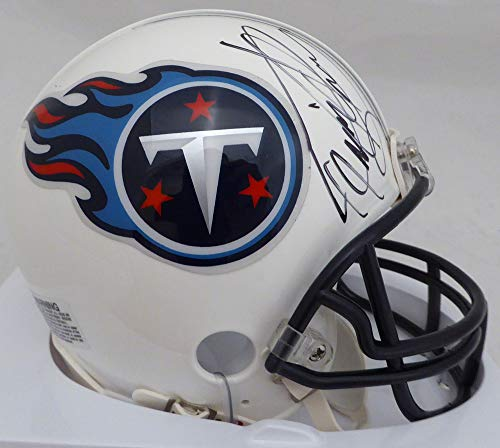 (Derrick Henry Signed Auto Tennessee Titans Mini Helmet Steiner Holo Stock #134870)