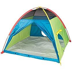 "Pacific Play Tents 40205 Super Duper 4 Kids Playhouse Tent - 58"" x 58"" x 46"""