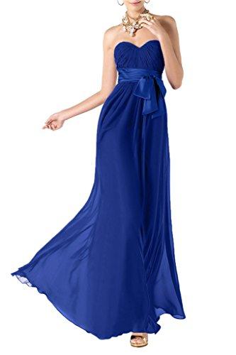 TOSKANA BRAUT -  Vestito  - linea ad a - Donna Blue - blu 42