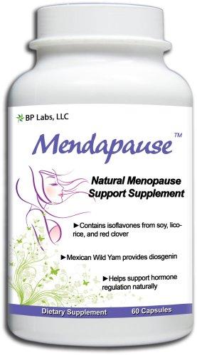 Mendapause 12 Supplément ménopause ingrédients pour les bouffées de chaleur, sueurs nocturnes, et des sautes d'humeur