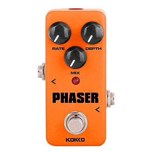 Susie-Smile - Phaser phase shift simulation Effect Pedal Mini Portable True Bypass Metal Shell For Electric Guitar Amp
