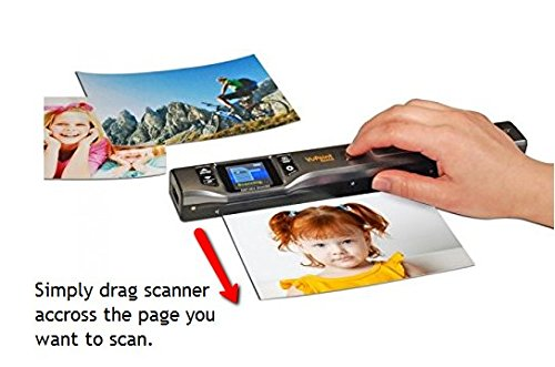 Vupoint Solutions Magic Wand Portable Scanner with Color LCD Display (PDS-ST470-VP) by VuPoint Solutions (Image #2)