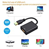 USB to HDMI Adapter,ABLEWE USB 3.0/2.0 to HDMI