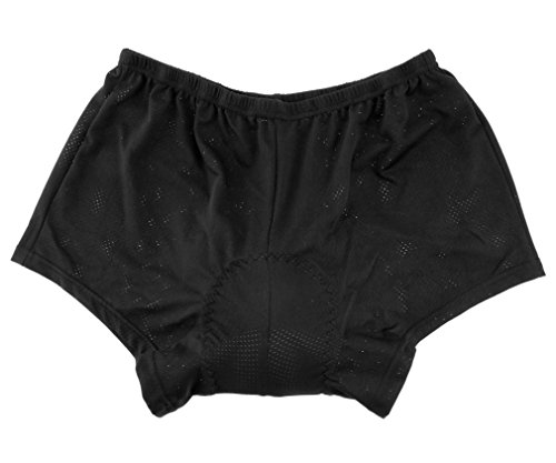 New Cycling Shorts Black Men Silicon Padded Cushion Bicycle Pants Underwear XXL by Micro Trader