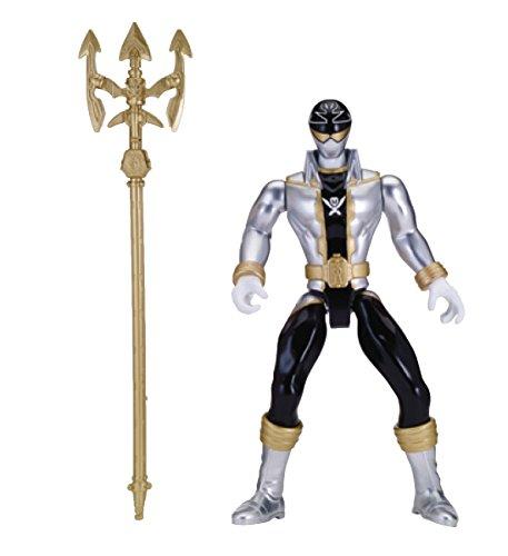 "Power Rangers Super Megaforce - 10"" Deluxe FX Super Mega Silver Ranger Action Figure"