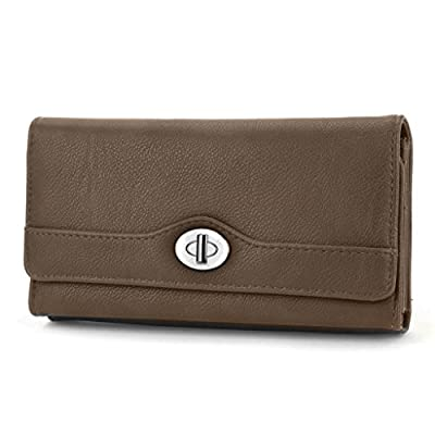 Mundi File Master Womens RFID Blocking Wallet Clutch Organizer