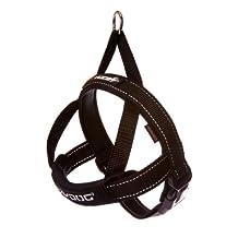 EzyDog Quick Fit Dog Harness, X-Large, Black