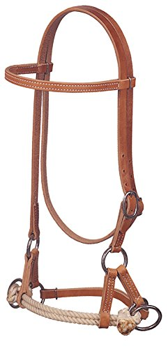 Weaver Leather Harness Leather Side Pull, Double ()