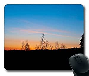 Mouse Pad - Finland Sunrise Durable Office Accessory Desktop Laptop MousePad and Gifts Gaming mouse pads