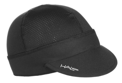 Halo Headbands Sweatband Cycling Cap Black