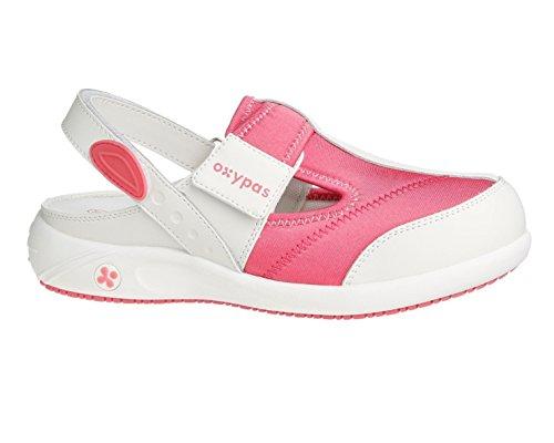 Oxypas Anais, shoes Femme - Blanc (fux), 37 EU