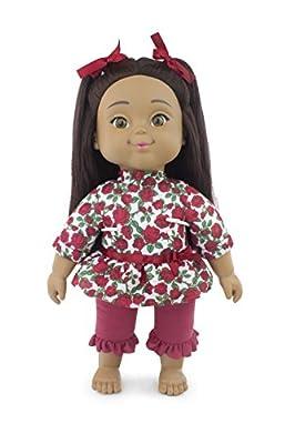 "Positively Perfect Stella Hispanic Toddler Doll, 14.5"""
