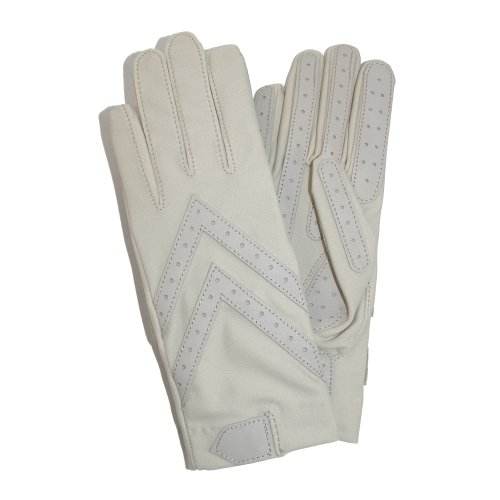 Isotoner Women's Spandex Shortie Unlined Glove,Oyster,One...