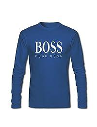 Hugo Boss Printed For Mens Long Sleeves Tops