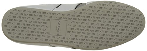Baskets argent AZZARO Blanc Plizy Blanc Basses Homme 0nxFnOT