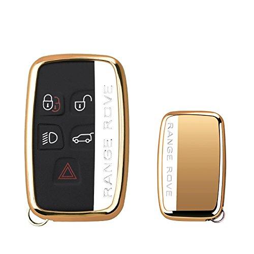 Cactus® Smart Key Protection Shell Llave de Coche Carcasa para Land Rover & Jaguar Llave Rojo KAKTUS