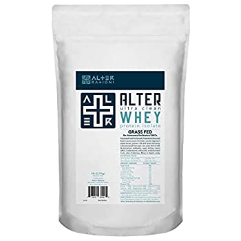 Image of Health and Household Alter + WHEY | Ultra-Clean Grass-Fed Whey Protein Isolate | Professional-Grade. Cold-Processed. No Sugar. No Additives. Unflavored. (5 lbs)