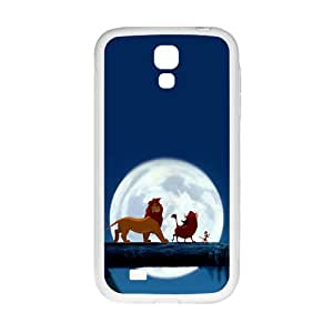 Lion King White Phone Case for Samsung Galaxy S4