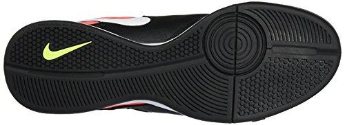 Nike Herren 819222-018 Hallenfußballschuhe Schwarz (Black/White-Hyper Orange-Volt)