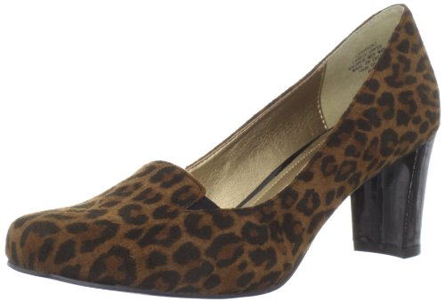 Circa Joan & David Womens Voyeur Pumpe Brun Leopard
