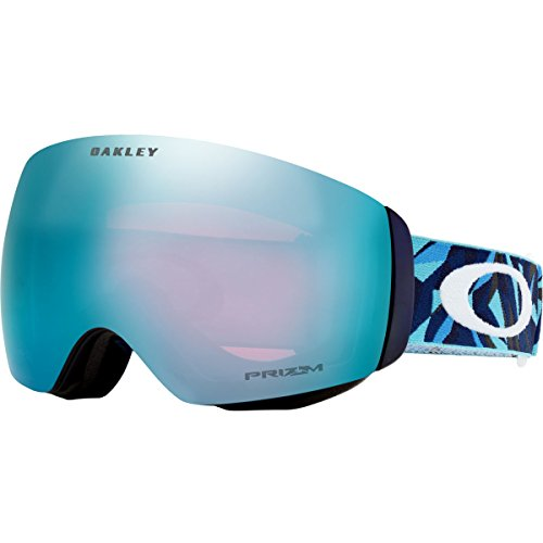 Oakley Flight Deck XM Snow Goggles, Facet Sapphire, - Rimless Goggles Oakley