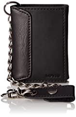 Levi's trifold wallet with detachable chain. Measures 3 x4