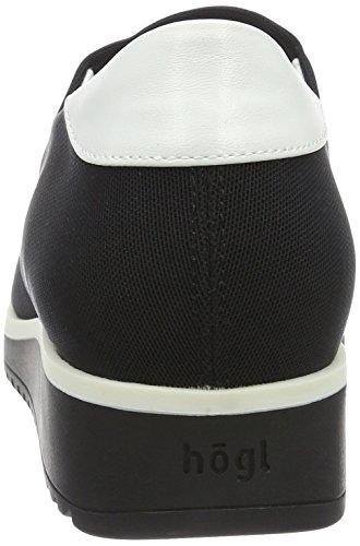 Basses 3 Femme 3336 Schwarz0100 Noir Sneakers Högl 0100 10 6XXaqR