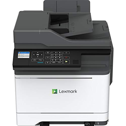 Lexmark CX421adn Laser Multifunction Printer - Color - Plain Paper Print - Desktop - Copier/Fax/Printer/Scanner - 25 ppm Mono/25 ppm Color Print - 2400 x 600 dpi Print - Automatic Duplex Print - 1 x I ()