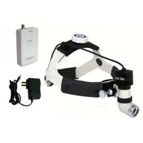 APHRODITE New Medical Headlamp Ooptional 3W LED Dental Surgical Headlight Type with KD202A-3 AC//DC
