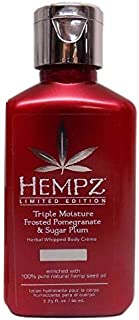 product image for Hempz Frosted Pomegranate & Sugar Plum (Frosted Pomegranate & Sugar Plum Body Créme, 2.25 ounces)