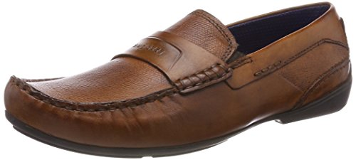 Bugatti Men 311456621100 Moccasins Brown (Cognac 6300)