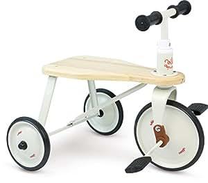 Vilac Carriers, escalas y Trotter - Triciclo de metal y madera