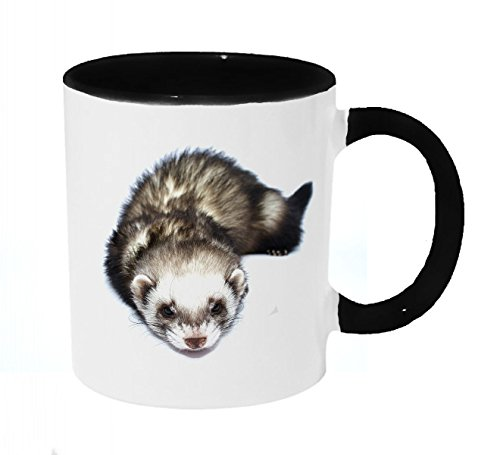 (Sleepy Ferret Coffee or Tea 11oz Mug - Perfect Gift for Animal)