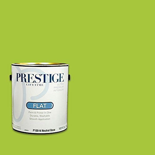 Prestige, Greens and Aquas 2 of 9, Interior Paint and Primer In One, 1-Gallon, Flat, Spring Hill
