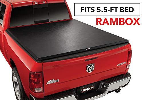 TruXedo TruXport Soft Roll-up Truck Bed Tonneau Cover | 284901 | fits 2019 Ram 1500 w/RamBox New Body Style 5'7″ Bed
