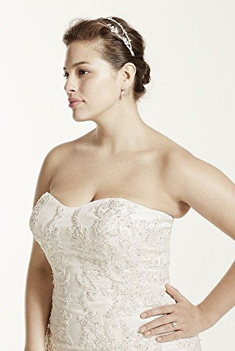 SAMPLE: Strapless Satin Trumpet Wedding Dress