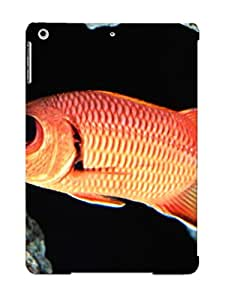 Ipad Air Case, Premium Protective Case With Awesome Look - Big Eye Squirrel Fish