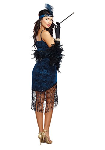 Dreamgirl Women's Downton Doll, Blue, Small