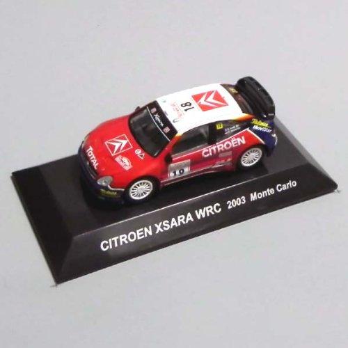 1/64 CITROEN C4 WRC 2007 Monte Carlo ラリーカーコレクション SS.19 シエトロン