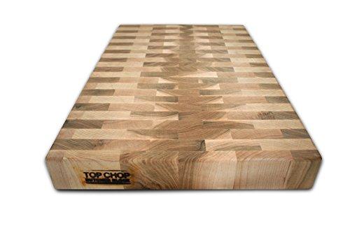 41DhX8LV%2BdL - Top Chop Butcher Block PGM-20182 Reversible Cutting Board, 20 x 18 x 2 Inch (Maple)
