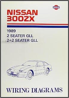 1989 nissan 300zx wiring diagram manual original: nissan: amazon com: books