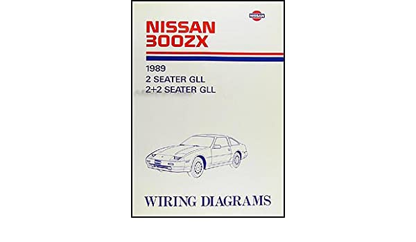 1989 Nissan 300ZX Wiring Diagram Manual Original: Nissan: Amazon.com: BooksAmazon.com