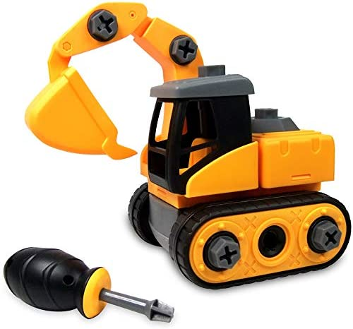 WisToyz Excavator Constructions Screwdriver Educational product image