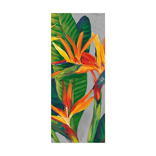 Trademark Fine Art Bird of Paradise Triptych II by Tim Otoole, - Tropical Triptych