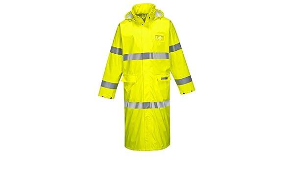 Portwest FR44 Sealtex Flame Resistant Hi-Vis Work Coat in Waterproof 50Inch ANSI
