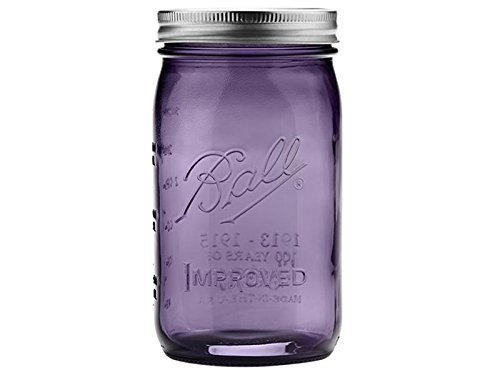 Quart Ball Jar - Purple