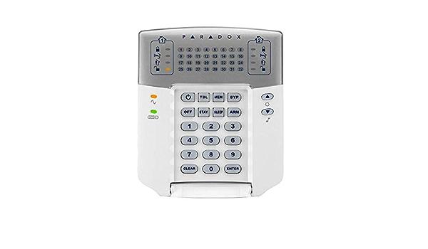 Paradox K32 + teclado con indicadores LED 32 zonas y puerta ...