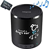 iCalmDog 5.0a Portable Speaker + 90-mins Clinically-Tested Calming Music: Through a Dog's Ear | Your Proven Canine Anxiety Solution