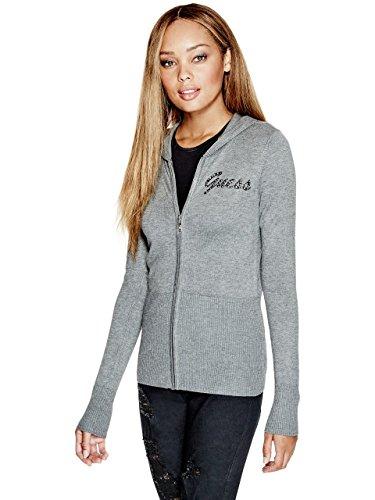 G by GUESS Women's Tali Logo Cardigan Cardigan Logo Sweater